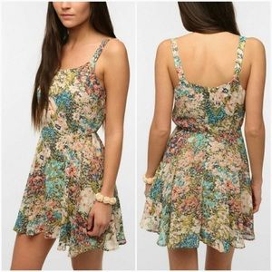 Urban Outfitters Lucca Couture Floral Dress Medium
